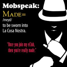 Once you join my eClub, then you're really made. #mobspeakmonday #pizza #godfatherspizza