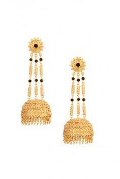 Onyx Jhumki Earrings!