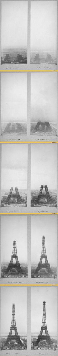 이슈인 - 에펠탑 건설 과정