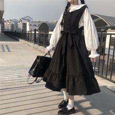Kawaii Fashion, Lolita Fashion, Cute Fashion, Look Fashion, Korean Fashion, Girl Fashion, Japan Fashion, Korean Outfits, Retro Outfits