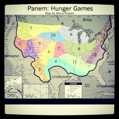 The Hunget Games - Panem I'm district 11