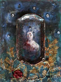 Dark Romanticism by Olga Siedlecka for Finnabair Creative Team