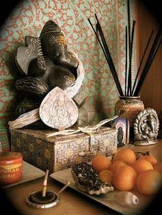 Only I read having more than one can counter the energies of the different Ganesha statues.