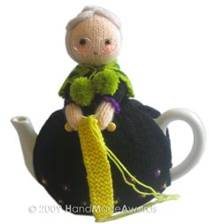 Sweet OLD LADY Tea Cosy  Pdf Email Knit PATTERN. $4.50, via Etsy.