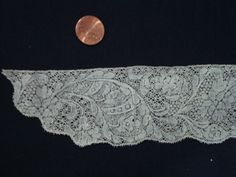 early Binche/Valenciennes p/b Arlene Cohen Antique Lace, Bobbin Lace, Belgium, Lace Shorts, Lily, Paris, Antiques, Embroidery, Antiquities