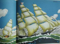 sail away | by bricolagelife from the story book of ships by maud and miska petersham