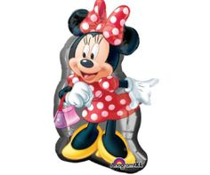 DISNEY MINNIE MOUSE LICENSED PARTY SUPPLIES BALLOON RED birthday baby shower