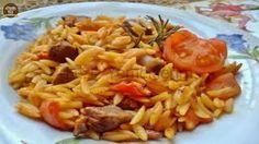 Oriz me pulë me erëza Pasta Salad, Rice, Meat, Chicken, Cooking, Ethnic Recipes, Food, Kitten, Crab Pasta Salad