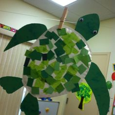 Sea turtle craft. Perfect for ocean unit!