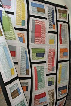 Rapid City quilt made by Belinda Gelhausen from Modern Patchwork pattern.