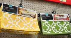 yellow table runner $18 over entertainment center or dresser/buffet