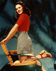 Deanna Durbin - shoes