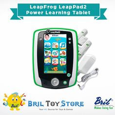 Have you checked out our new International store yet?   Featured here is one of our best sellers: LeapFrog LeapPad2 Power Learning Tablet, Green by LeapFrog  Play with game cartridges or download apps —the choice is yours. Unlock your child's imagination and potential with eBooks, videos, music, creativity studios, games and more  => Shop here:http://www.brilindia.com/briltoystore/toys-games/electronics-for-kids/leapfrog-leappad2-power-learning-tablet-green-com/