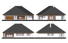 House design Kaprys V House Entrance, Ground Floor, 4x4, Gazebo, House Plans, Sweet Home, Shed, Outdoor Structures, House Design