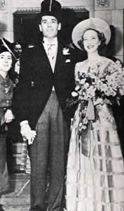 Henry Fonda & Frances Ford Seymour (m. 1936-50, her death).  They had two children, Jane (1937) & Peter (1940).