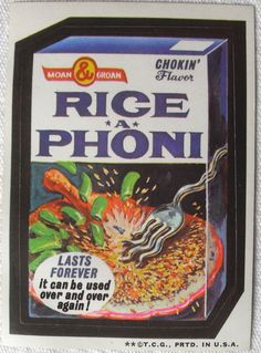 wacky packages - Google Search
