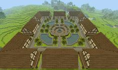 My minecraft town ( any ideas? ) - Minecraft, Pubg, Lol and Minecraft Barn, Minecraft Kingdom, Minecraft Building Guide, Easy Minecraft Houses, Minecraft Castle, Minecraft Houses Blueprints, Minecraft Room, Minecraft Plans, Minecraft Construction