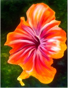 Burst of Color Painting and or Notecards www.bandbnewbeginnings.com