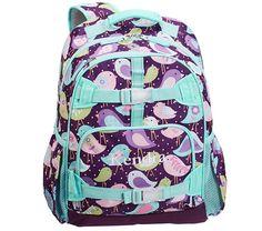 Mackenzie Plum Bird Backpacks | Pottery Barn Kids