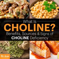 What is Choline? Big Benefits & Signs of a Deficiency - Dr. Axe Health And Nutrition, Health And Wellness, Holistic Wellness, Good Foods To Eat, Fatty Liver, Best Diets, Metabolism, Natural Health, Dr Axe