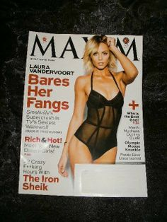 MAXIM Magazine ~ MARCH 2014 Issue ~ Featuring LAURA VANDERVOORT