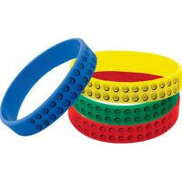 #LegoDuploParty - Party City Favors - Lego Crayons and Wrist Bands