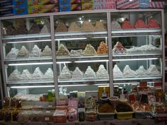 Lovely Turkish Delight shop in Nicosia North Cyprus, Turkish Delight, Valance Curtains, Places To Go, Shop, Decor, Decoration, Decorating, Valence Curtains