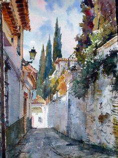 Geoffrey Wynne Acuarelas - Watercolours: Paso a paso - Step by step