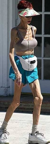 Old age is hell, but implants last forever!  Bwahahaha!!!