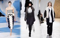 Le noir et blanc  - Tendances mode automne-hiver 2013/2014