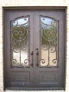 A beautiful iron door from one of my friend a beautiful for House friend door