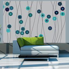 Fototapet - Azure buttons #geometry #blue #turquoise #tapet #wallpapers #wallpapersticker #wallpaperstiker #wallmural #wallmurals #wallmuraldesign #wallmuralart #wallmuralscenery #glix #decor #acasa #wallart #wallartdecor #wallarts #wallartprint #wallartofphotography #wallartdesign #homedecor #homedecoration #Home #homesweethome #homedesign #homestyling Star Wallpaper, Embossed Wallpaper, Geometric Wallpaper, Wall Wallpaper, Buy Wallpaper Online, Fabric Textures, Hazelwood Home, Wall Murals, Decoration