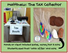 4 7a Matthew The Tax Collector Sunday School Crafts For Kids