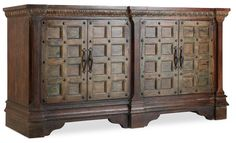 Hooker Furniture Entertainment Console 76in 5516-55476-DKW