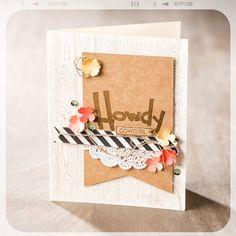 feminine card with Yee-Haw