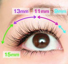 In the eye of Matsuek. Recommended design / ordering method … – Beauty & Seem Beautiful Eyelashes, Eyebrows, Lash Growth, Beauty Book, Diy Skin Care, Eyelash Extensions, Wedding Makeup, Eye Makeup, Beauty Hacks