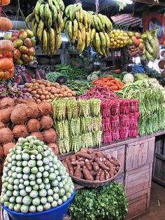 Vegitable market in Munnar, Kerala, India                                                                                                                                                      More