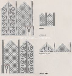 View album on Yandex. Knitted Mittens Pattern, Knit Mittens, Knitted Gloves, Knitting Charts, Knitting Patterns, Crochet Patterns, Fair Isle Chart, Scandinavian Pattern, Knit Art