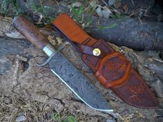 S guard Bowie and Mexican Loop Sheath by Chad Cunningham