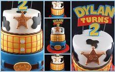 """Woody """"Toy Story"""" Birthday Cake...."""
