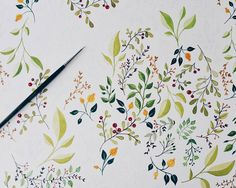 """ - #watercolor #painting #illustration #paint #drawing #aquarelle #workinprogress #wip #flowers #royaltalens #peoplescreative #vscoart #vsco…"""