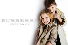 The Burberry Childrenswear Spring/Summer 2012 campaign