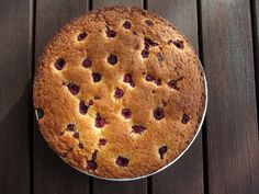 Gluten-free and Dairy-free Almond and Coconut Cake with Raspberries