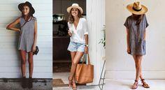 Robes légères, shorts et blouses... sur la plage ou en terrasse, découvrez comment habiller avec style vos maillots fétiches.