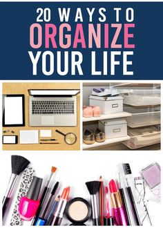 Getting a JUMP on organizing! Starting now to be DONE by 2016!