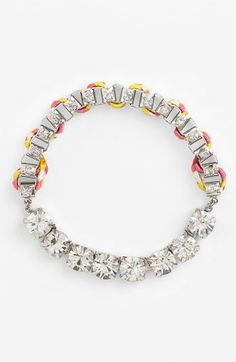 Statements by DCK Rhinestone Link Bracelet available at Nordstrom