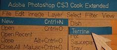 Agora um tutorial de como fazer biscoitos no Photoshop Cook