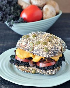Cheesy Nacho Mushroom Melts @spabettie