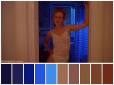 "Color palette from ""Eyes Wide Shut"" – Movie Posters Movie Color Palette, Colour Pallette, Larry Smith, Allen Smith, Birdman, Cinema Colours, Color In Film, Por Tras Das Cameras, Colours That Go Together"