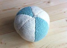 Ballon en tricot
